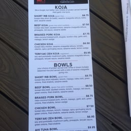Koja Kitchen Menu San Jose Kitchen Appliances Tips And Review