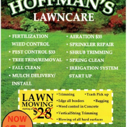 Hoffmans Lawn Care Landscaping 435 E Warnock Ave City
