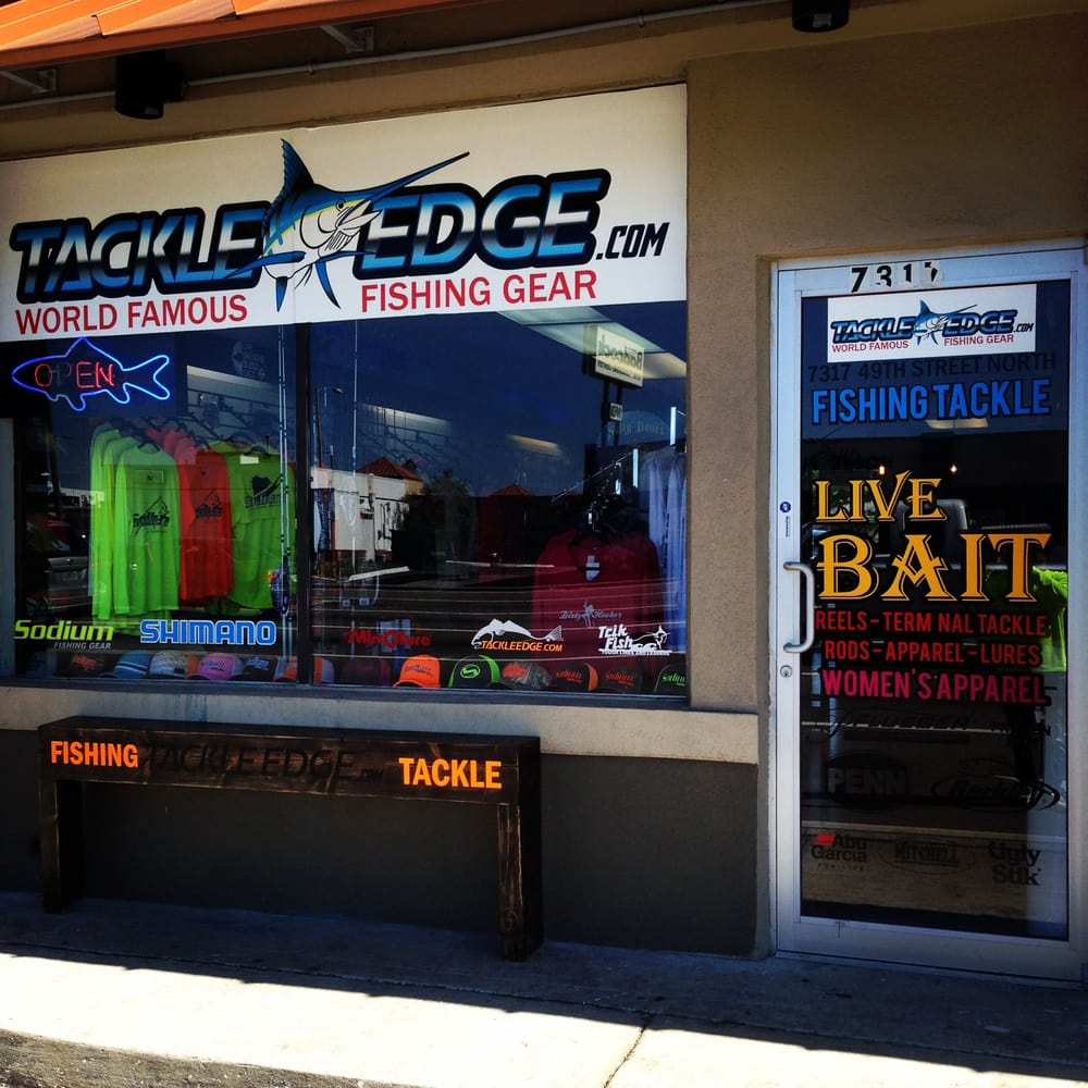 Tackle Edge: 7317 49th St N, Pinellas Park, FL