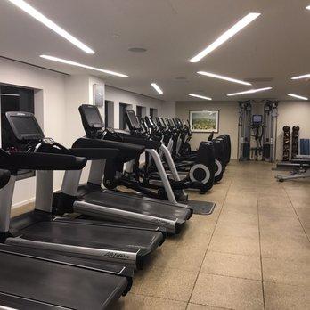 Conrad hotel fitness club