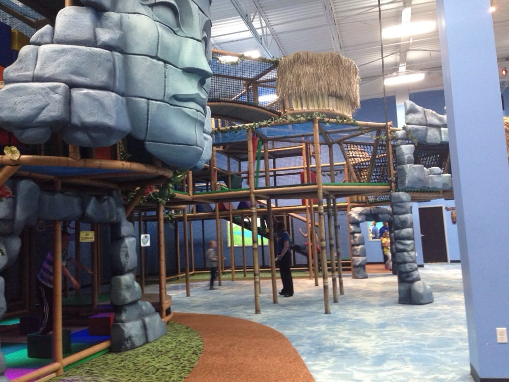 Part Of The Indoor Playground Yelp