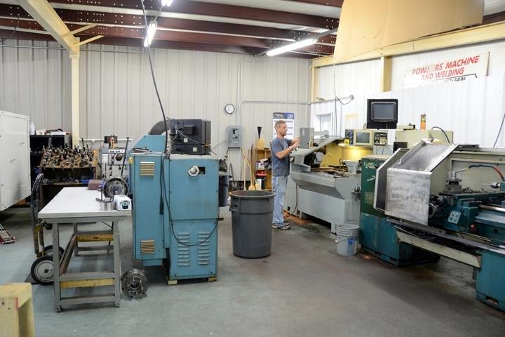 Powers Machine Shop: 80 Powers Rd, Decherd, TN