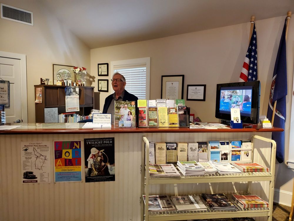 Warrenton-Fauquier Visitor Center: 33 N Calhoun St, Warrenton, VA
