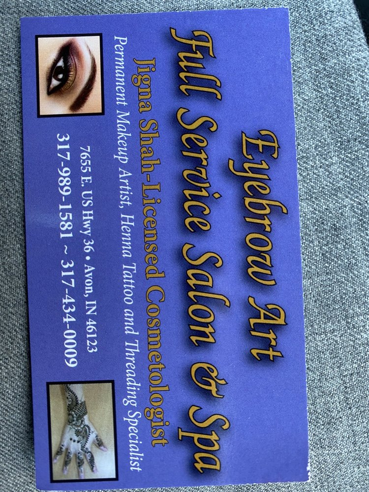 Eyebrow Art: 7655 E US Hwy 36, Avon, IN