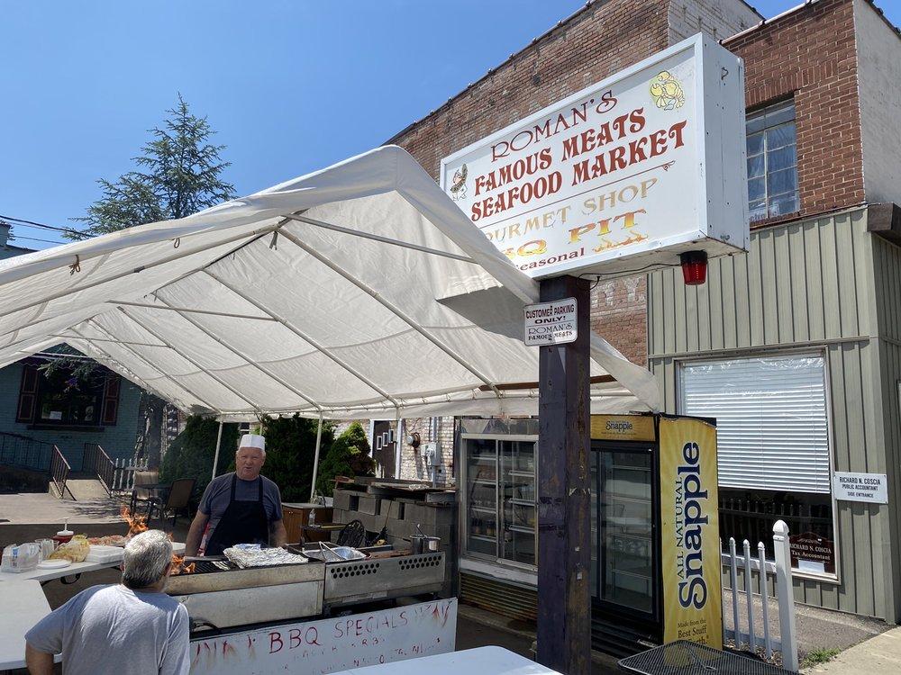 Roman's Famous Meats & Seafood: 1002 Main St, Honesdale, PA