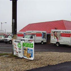 Uhaul truck rental fredericksburg va