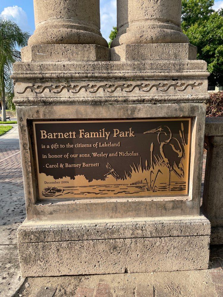 Barnett Family Park: 730 E Orange St, Lakeland, FL