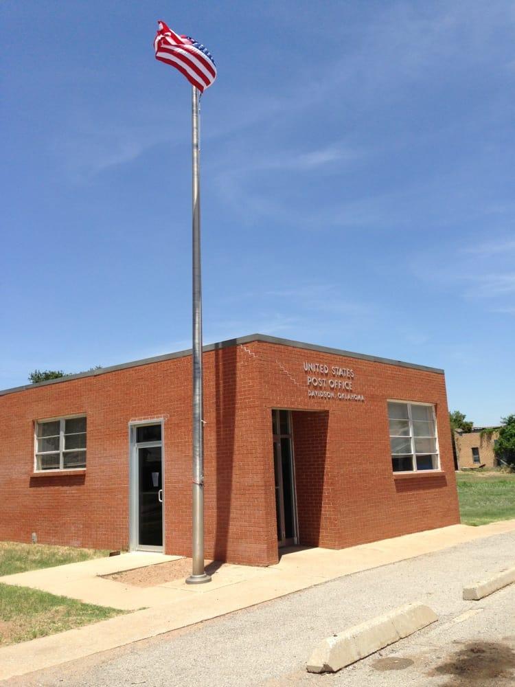 United States Postal Service: 110 W Grand St, Davidson, OK