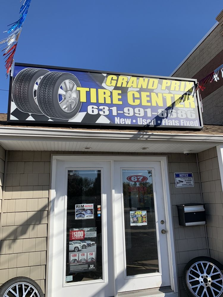 Grand Prix Tire Center: 67 Montauk Hwy, Copiague, NY