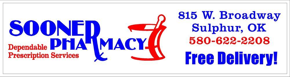 Sooner Pharmacy Of Oklahoma: 815 W Broadway St, Sulphur, OK