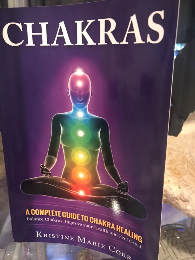 All types of chakra books, chakra healing therapy available