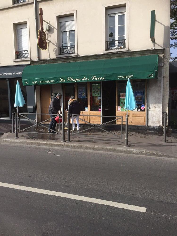 La chope des puces jazz blues 122 rue des rosiers for Jardin 122 rue des poissonniers