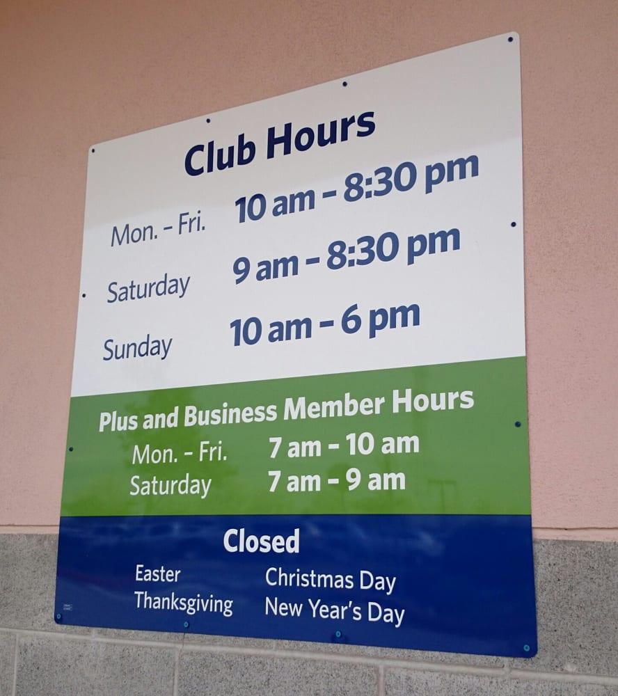 Sam's Club hours - Yelp
