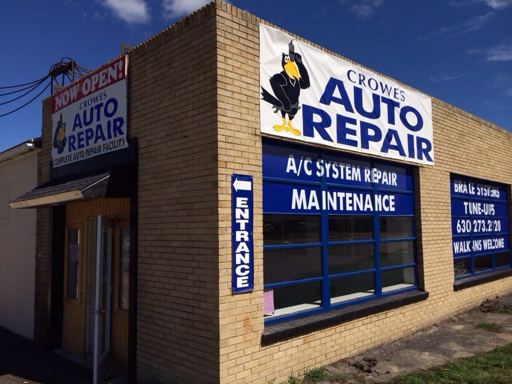 Crowes Auto Repair: 324 US Rte 34, Plano, IL