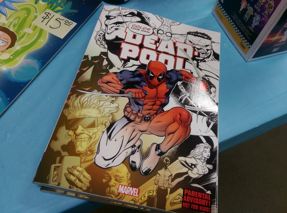 photo of fantasium comics and games federal way wa united states oooh - Deadpool Coloring Book