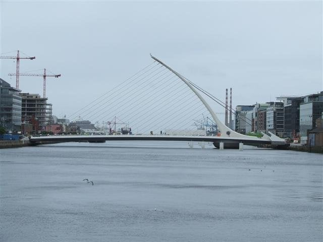 Samuel Beckett Bridge: Docklands, Dublin, GA