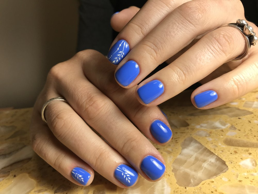 As usual amazing mani with Luxio gel - Yelp