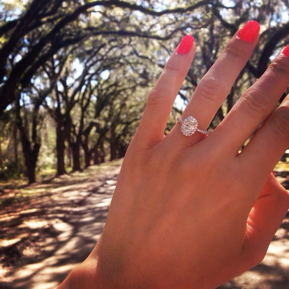 Oval Engagement Rings Lauren B