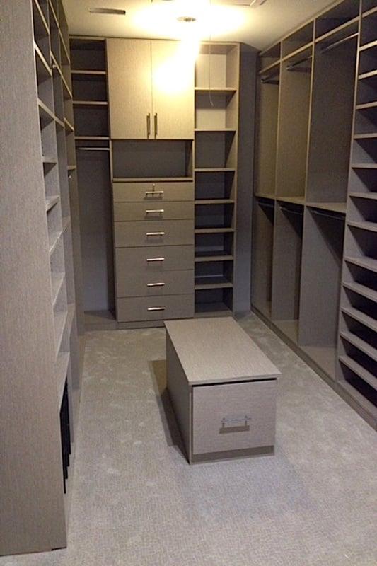Photo Of Alternative Closet Company   Deer Park, NY, United States. Grey  Wood