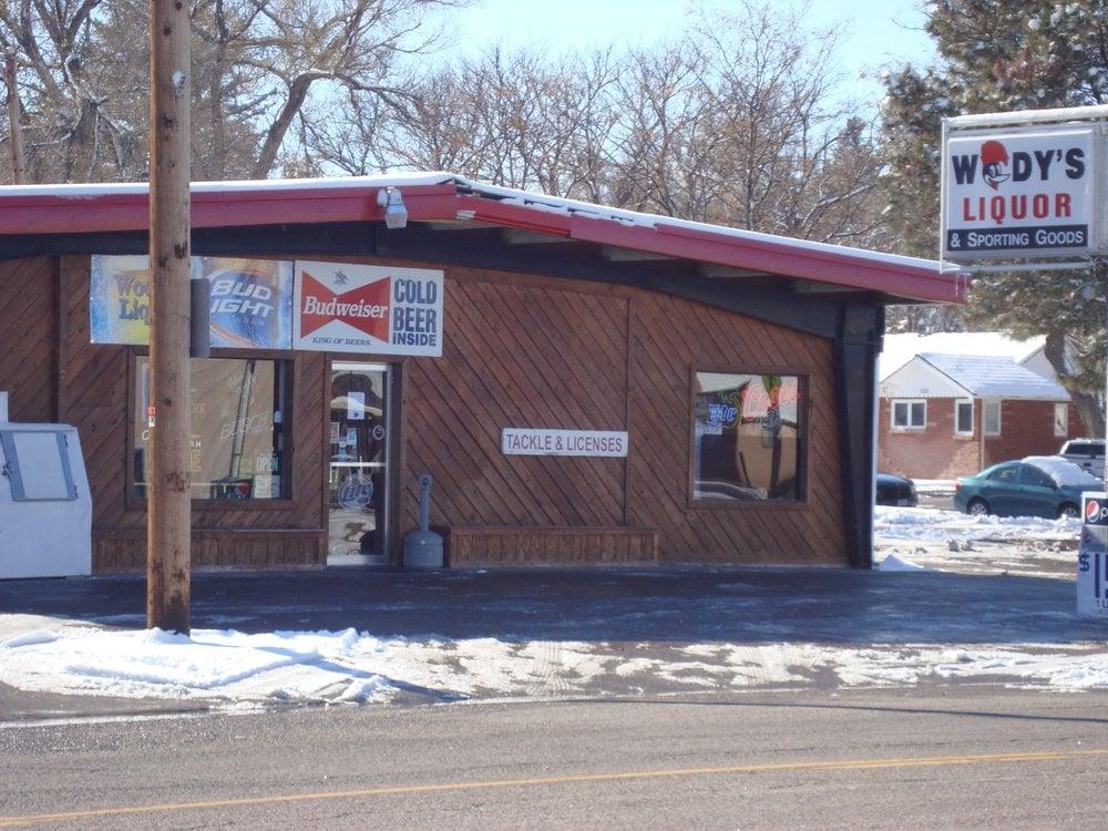 Woody's Liquor & Sporting Goods: 208 E 3rd St, Kimball, NE