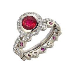 Photo Of Liza Shtromberg Jewelry Los Angeles Ca United States Ruby