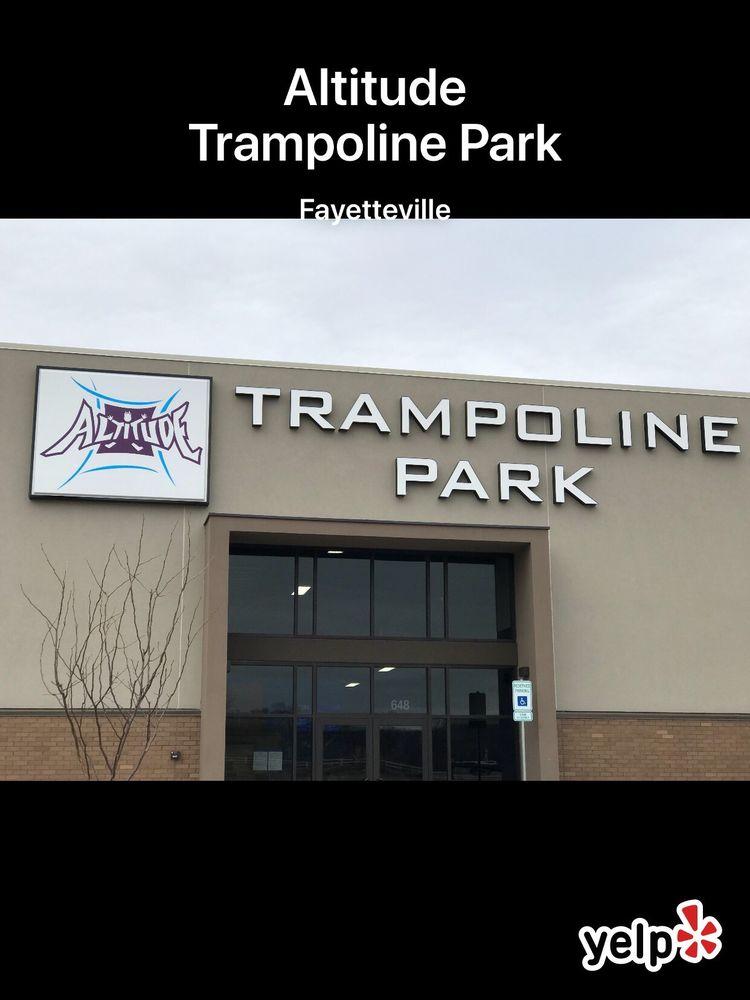 Altitude Trampoline Park: 648 E Van Asche Dr, Fayetteville, AR