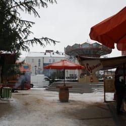 Weihnachtsmarkt Salzwedel.Weihnachtsmarkt 2010 Marktplatz Salzwedel Sachsen Anhalt