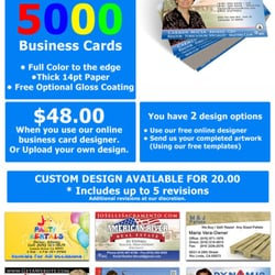 Business cards flyers banners printing services 7243 cinnamon photo of business cards flyers banners citrus heights ca united states 5000 reheart Images