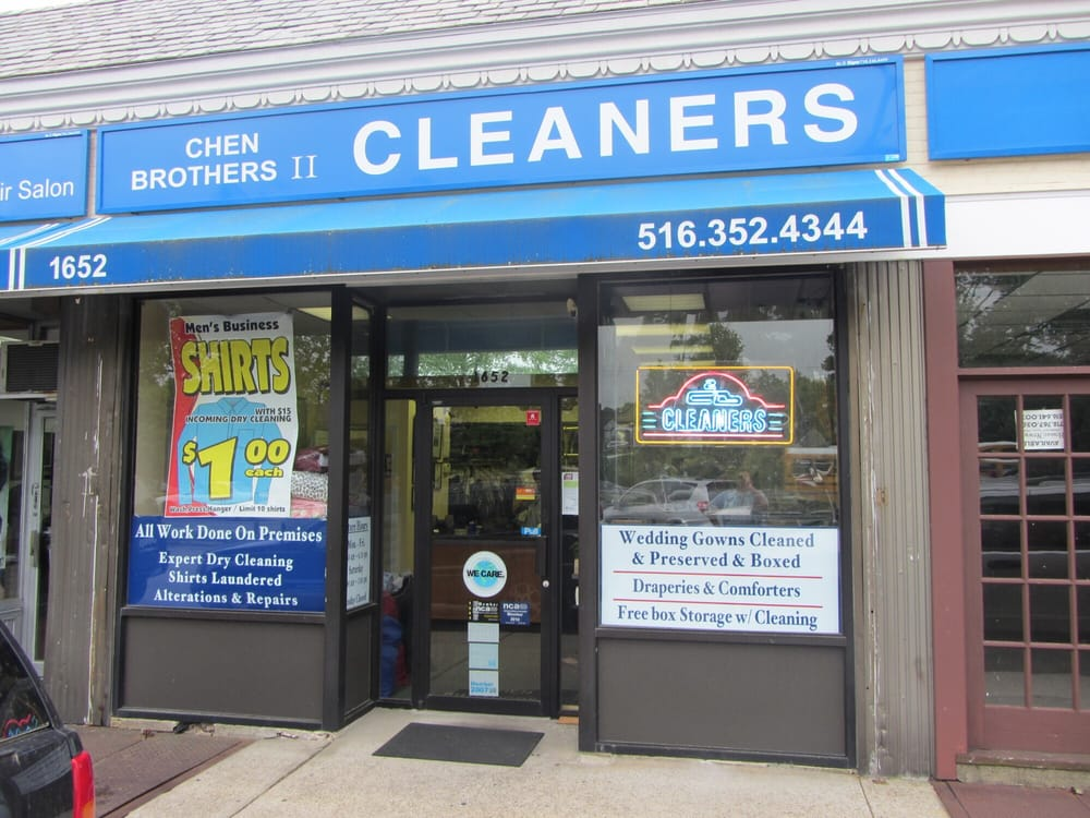 Chen Brothers II Cleaners: 1652 Hillside Ave, New Hyde Park, NY