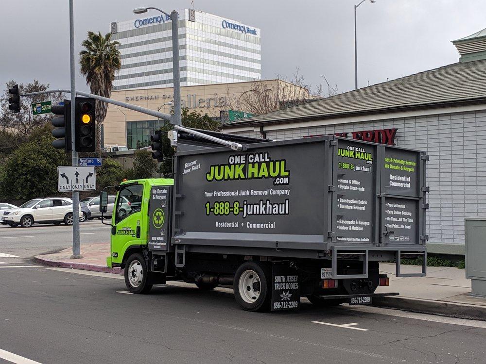 One Call Junk Haul San Fernando Valley   14900 Magnolia Blvd, Los Angeles, CA, 91413   +1 (818) 574-8566