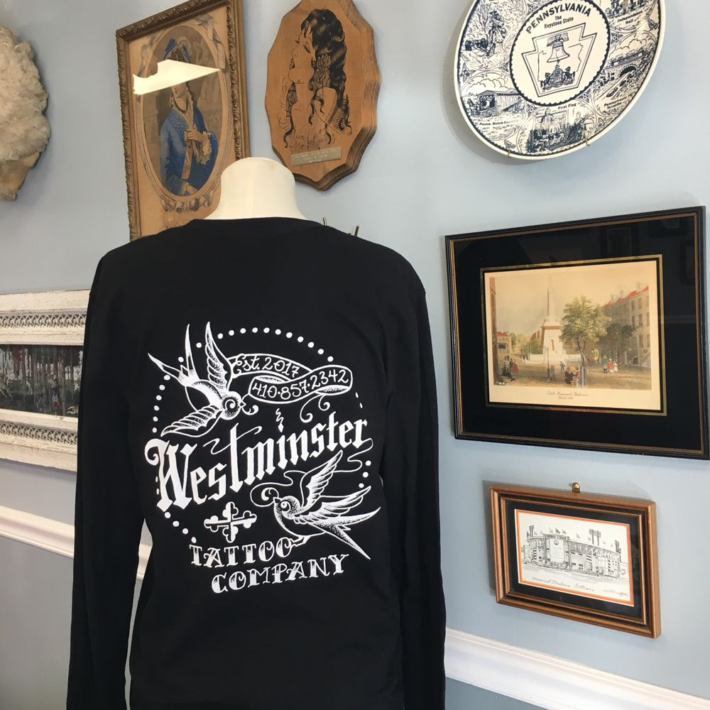 Westminster Tattoo Company: 330 140 Village Rd, Westminster, MD