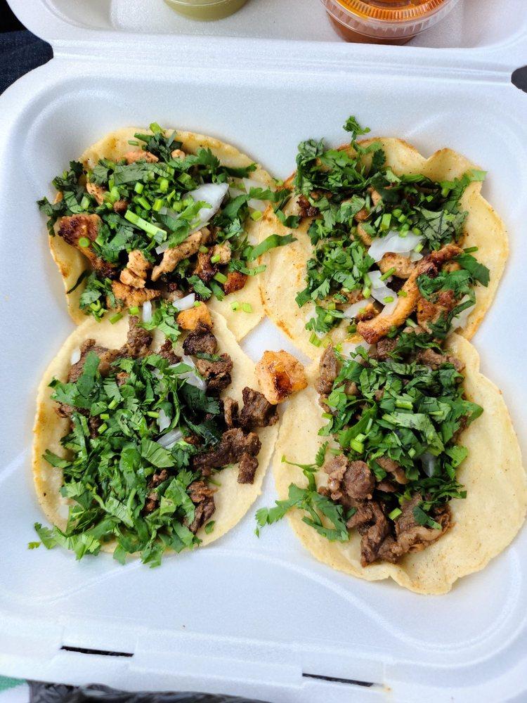 Food from Tacos Dona Felix