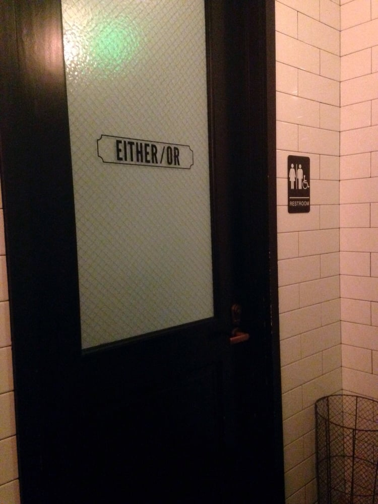 They Have Women Men And Either Or Personal Bathroom Stalls Unique Yelp