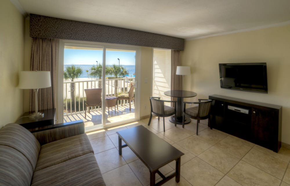 waterfront suites tampa fl united states one bedroom living room