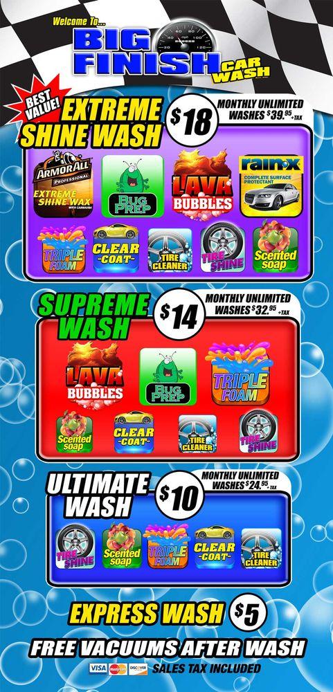 Big Finish Car Wash - Car Wash - 4221 Clark Rd, Sarasota, FL