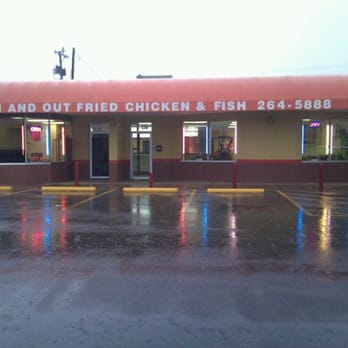 In and out fried chicken fish closed chicken wings for Plenty of fish wichita ks