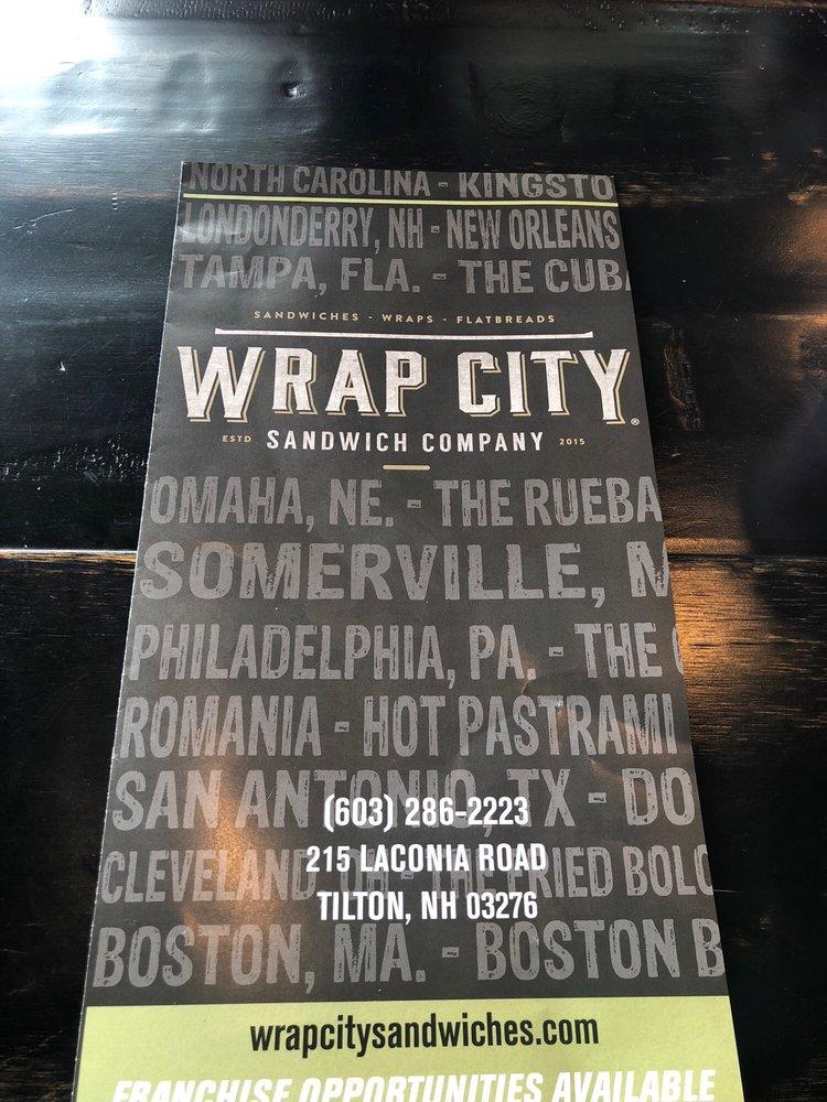 Wrap City: 215 Laconia Rd, Tilton, NH