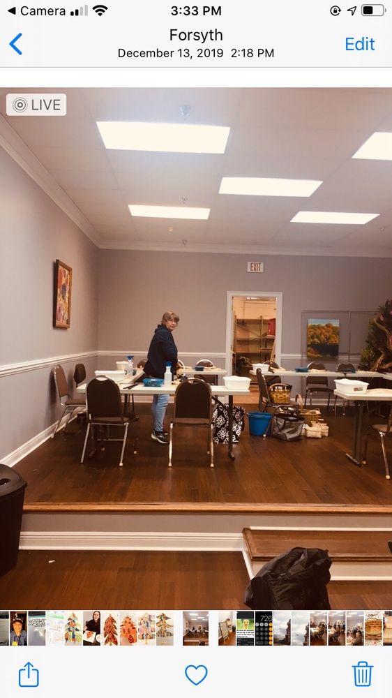 The 1823 Artisan Guild & Gallery: 20N Jackson St, Forsyth, GA