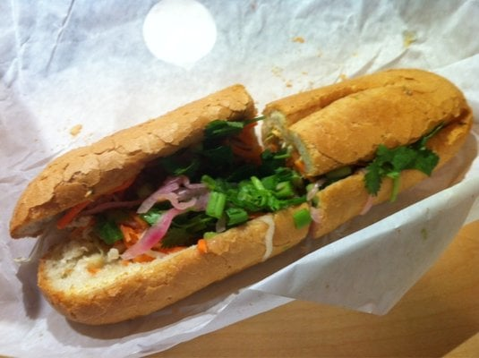 Bonmi Chicken Sandwich Spicy All Toppings Yelp