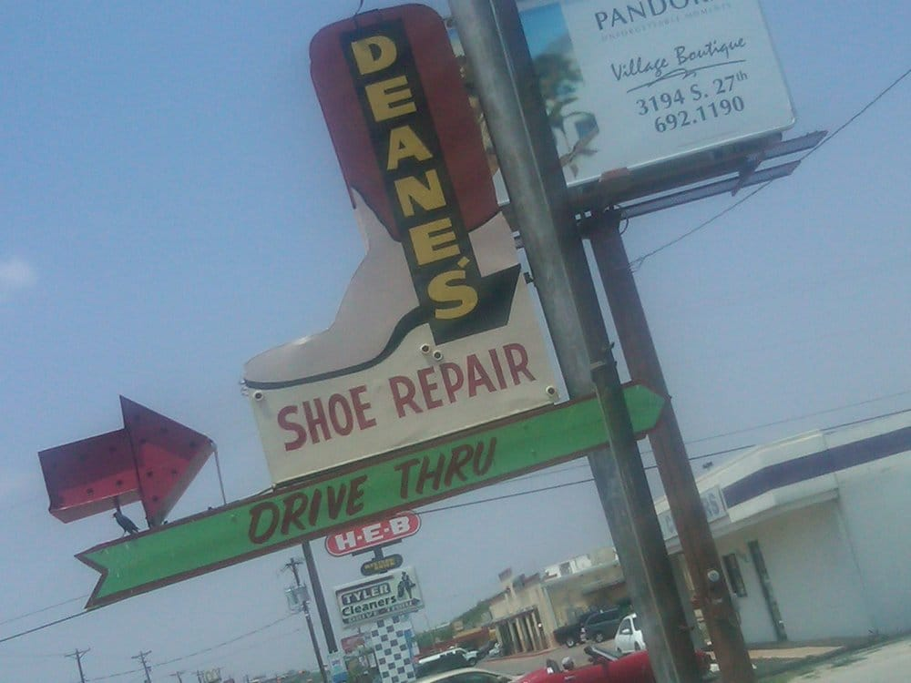 Deane's Boot & Shoe Repair: 2830 S 14th St, Abilene, TX