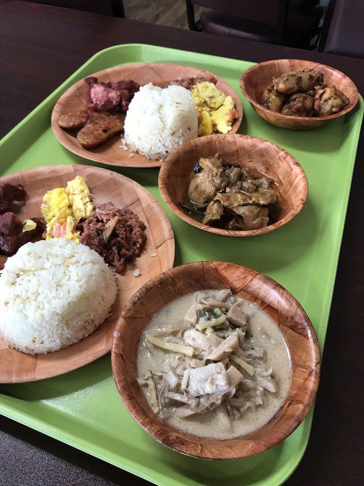 Food from Kuya Ian's Bistro