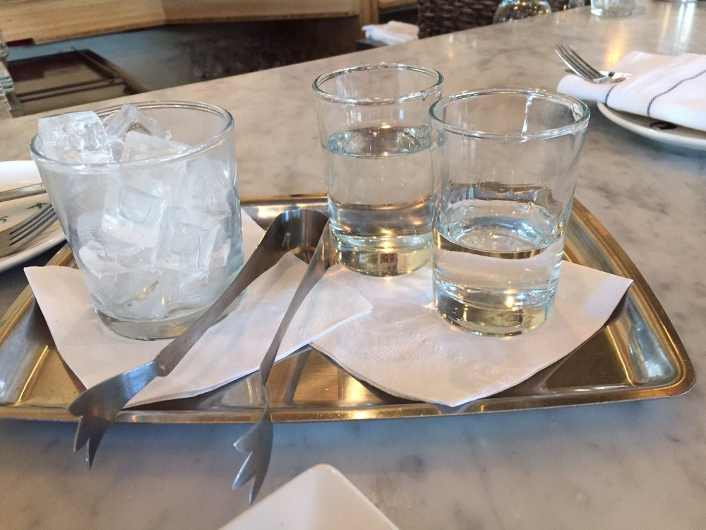 Ouzo tray have the bartender explain the process then dip and enjoy 5 happy hour yelp - Malabar indian cuisine richmond va ...