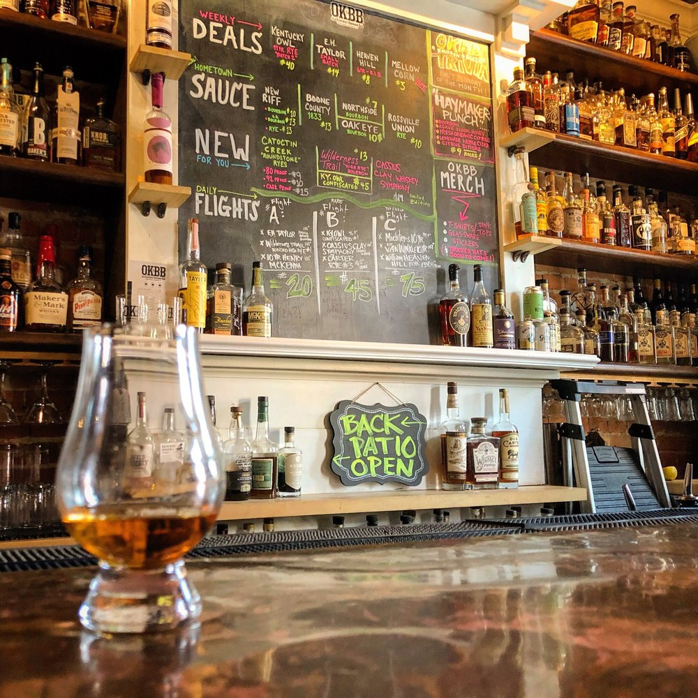 Old Kentucky Bourbon Bar: 629 A Main St, Covington, KY