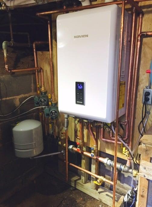 Navien Combi Boiler Installation - Yelp