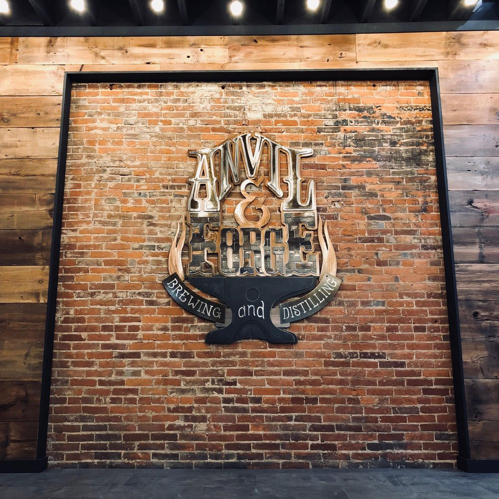 Food from Anvil & Forge Brewing and Distilling