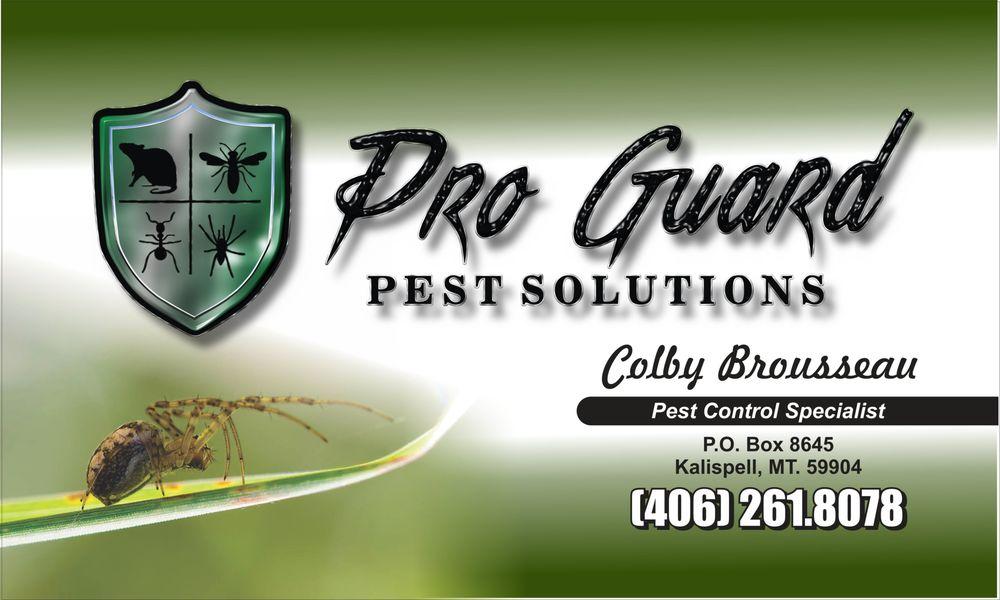 Pro Guard Pest Solutions: Kalispell, MT