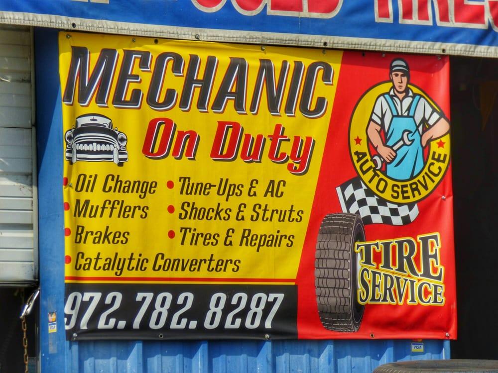 Catrachos Tire & Mufflers: 421 Audie Murphy Pkwy E, Farmersville, TX