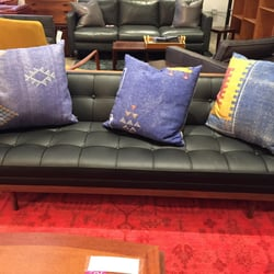 Photo Of HD Buttercup   Los Angeles, CA, United States. Nice Black Sofa