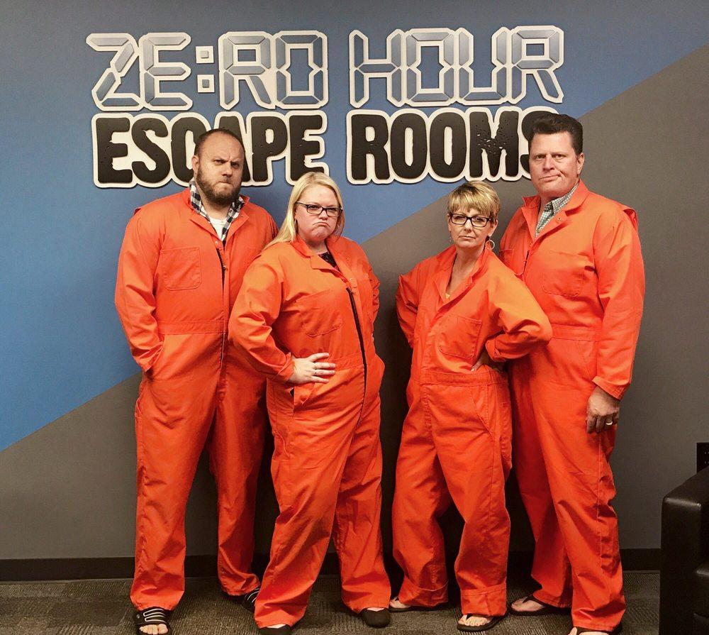 Zero Hour Escape Rooms: 12800 Industrial Park Blvd, Minneapolis, MN