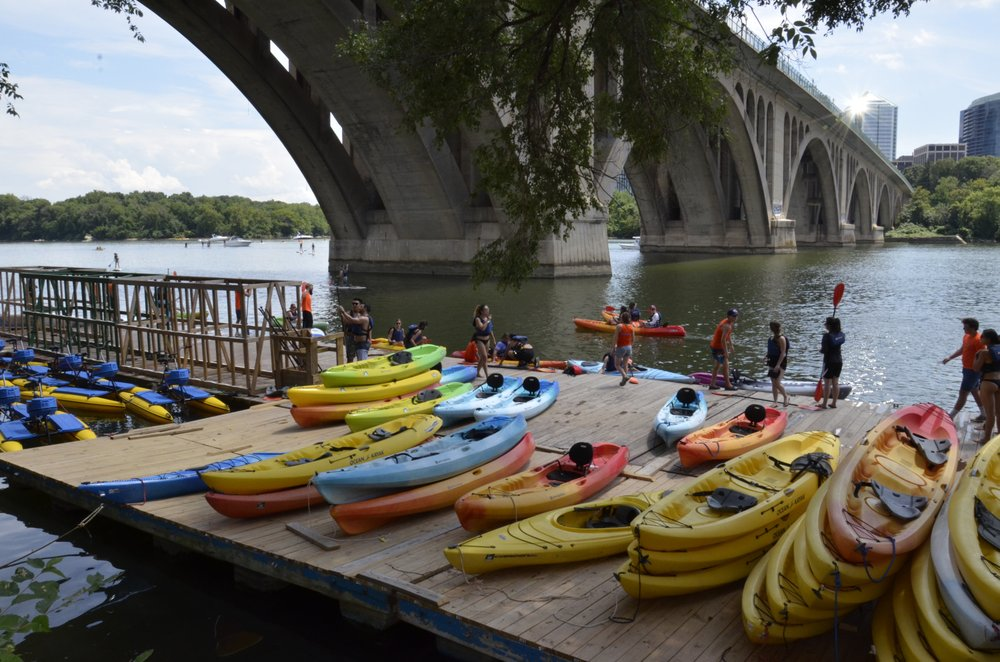 Boating In DC at Key Bridge Boathouse: 3500 Water St NW, Washington, DC, DC